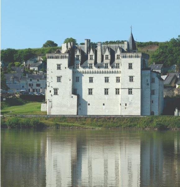 Le château de Montsoreau, patrimoine mondial de l'Unesco