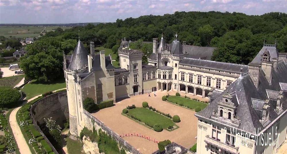 Le château de Brézé, le plus souterrain