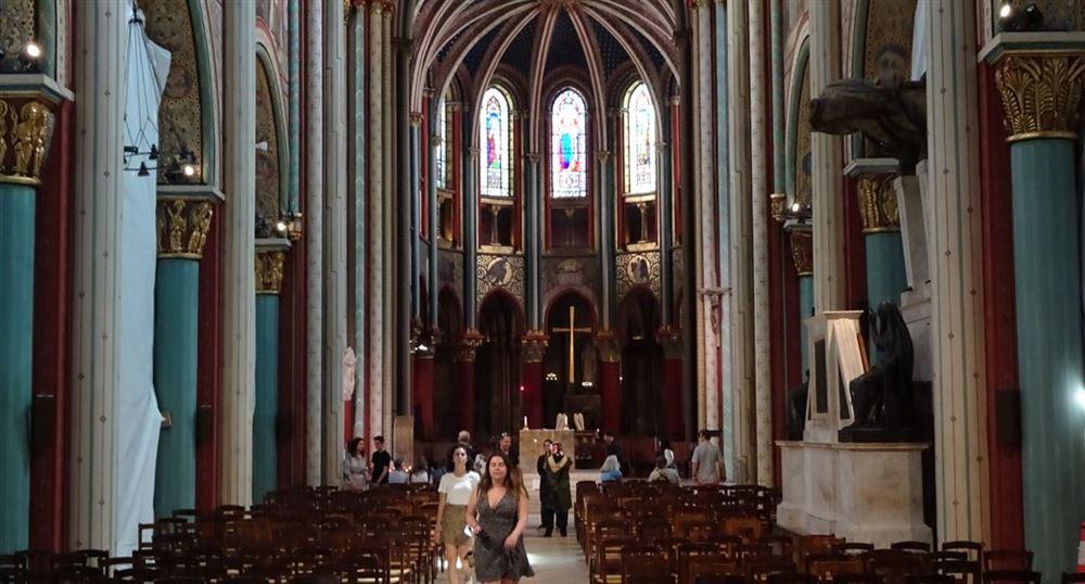 The Saint-Germain-des-Prés church