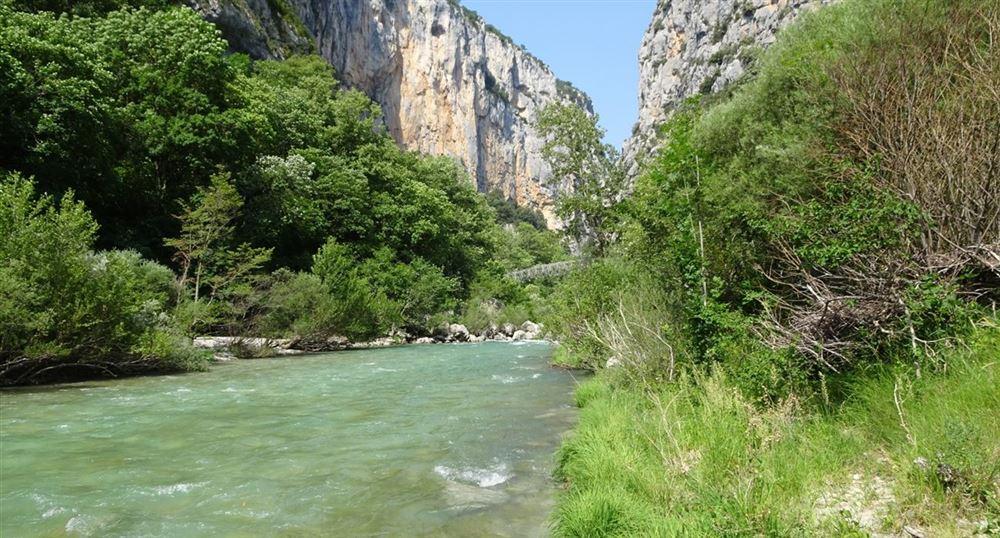 Les rives du Verdon
