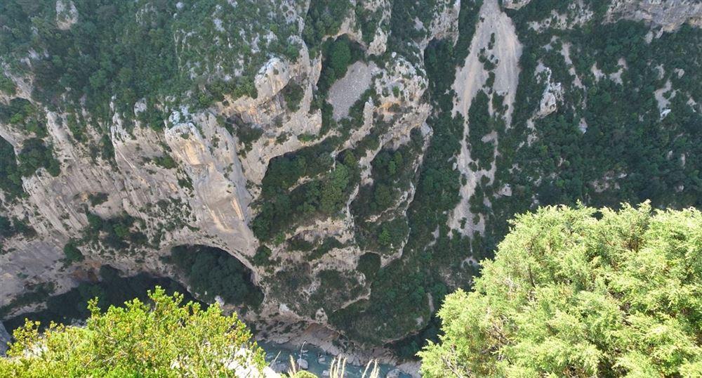 Beautiful view of the Verdon below
