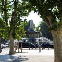 A walk in Aix-en-Provence