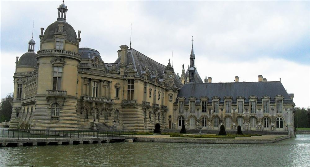 The castle of Chantilly