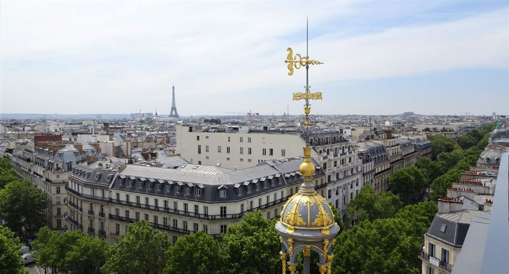 View of Paris from the Printemps
