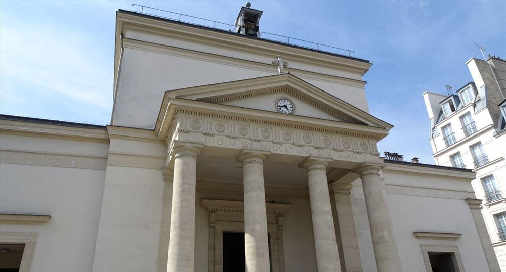 L'église Sainte-Marie des Batignolles