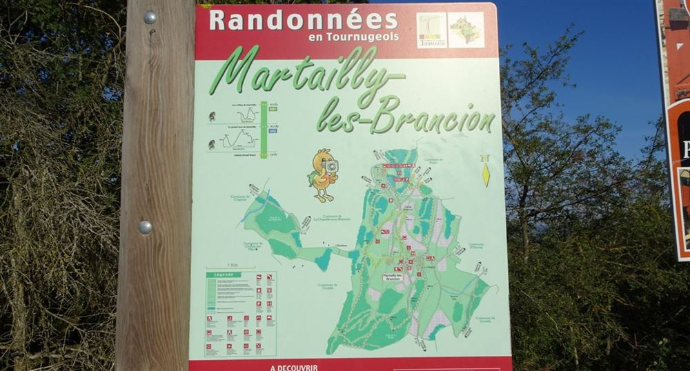 Les randonnées autour de Brancion