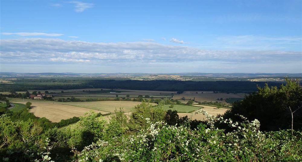 La vue sur la campagne