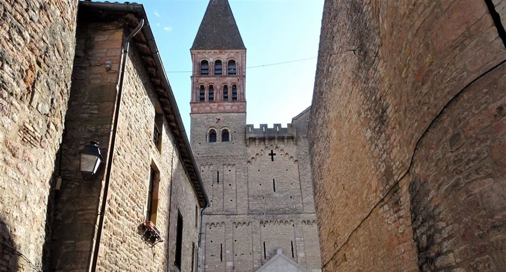 The abbey of Saint-Philibert