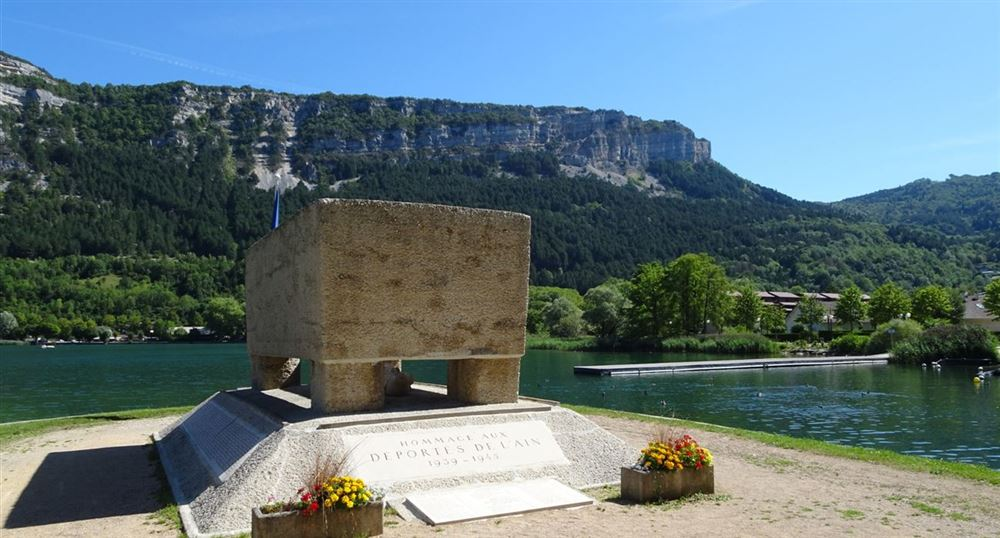Monument in memory of the deportees of the Second World War