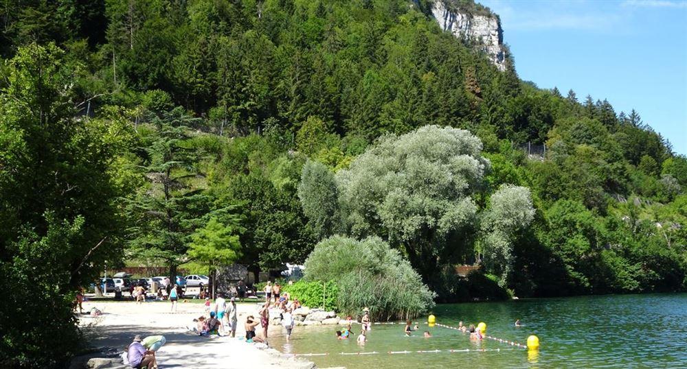 The swimming area