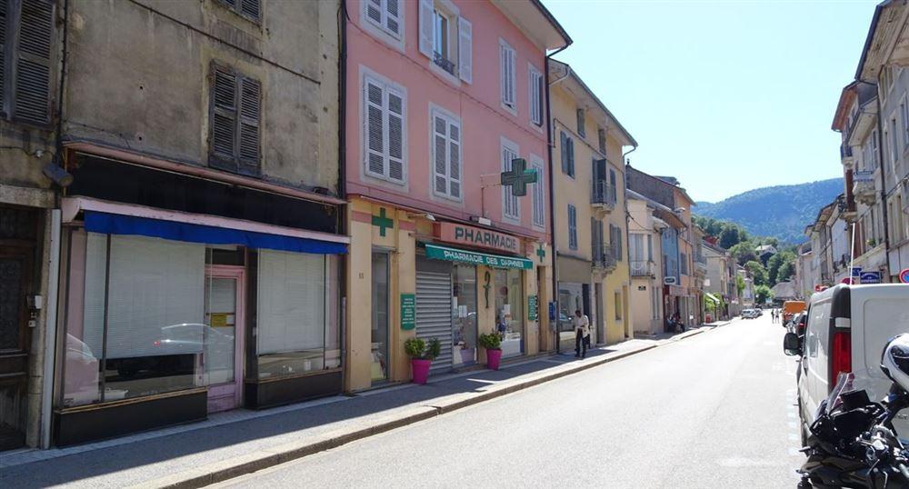 Le centre-ville de Nantua