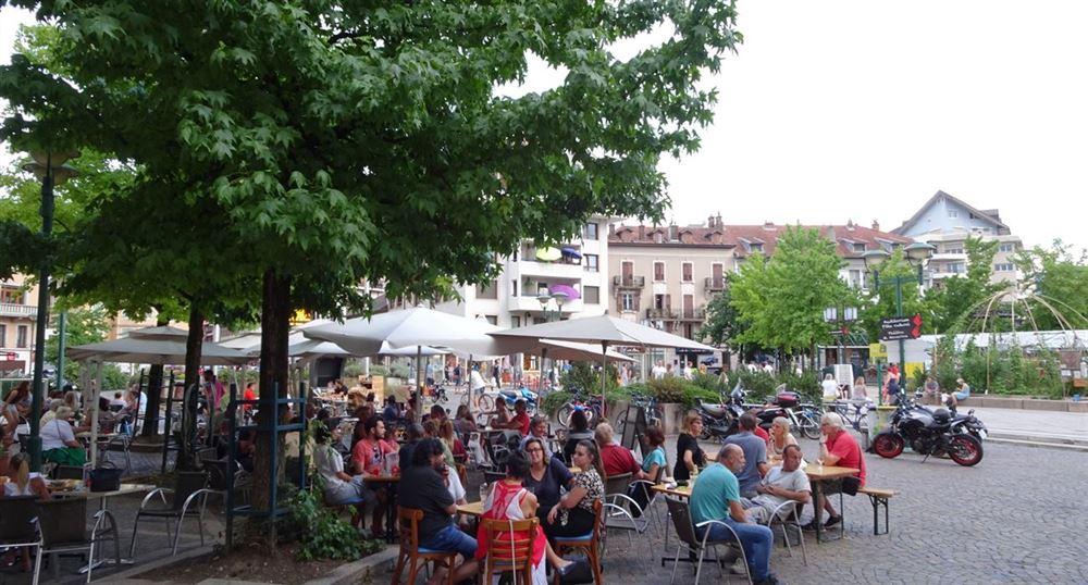 A place in Thonon-les-Bains