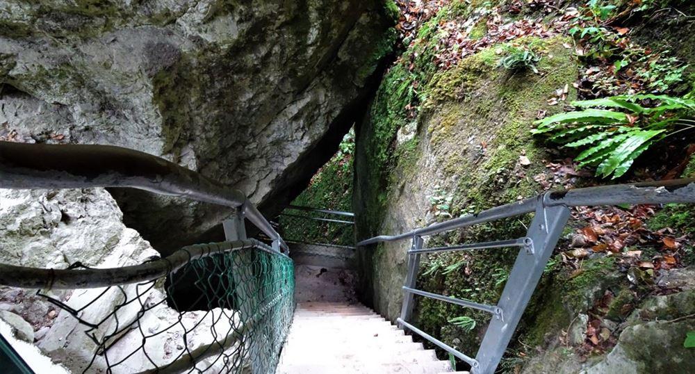 Le premier escalier