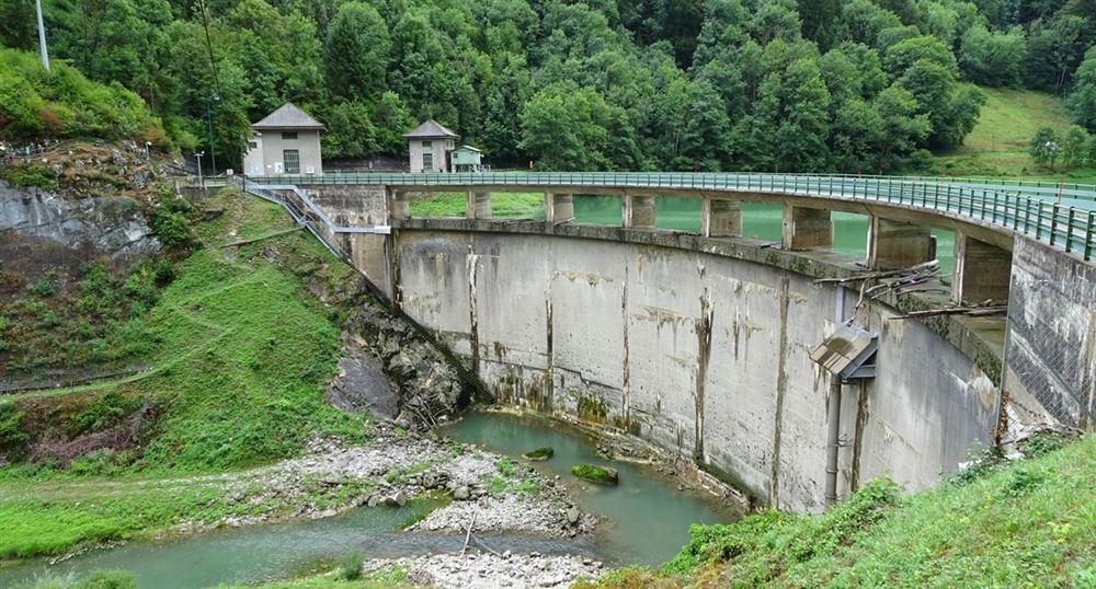 Le barrage du Jotty