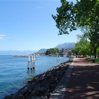 A walk in Evian-les-Bains