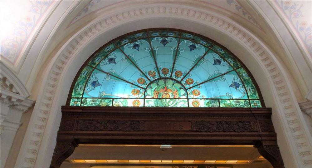 L'intérieur du Palais Lumière