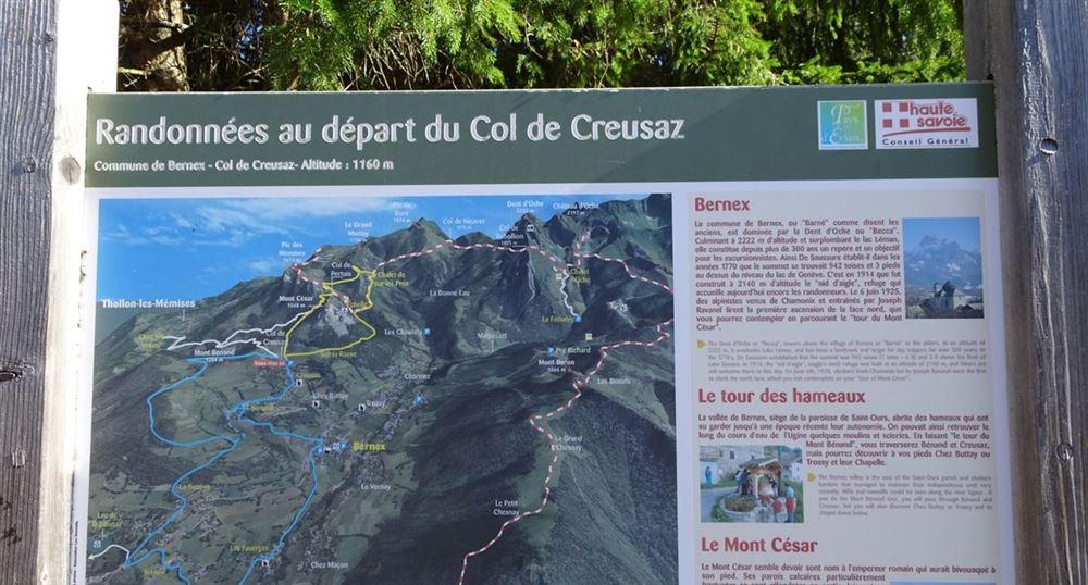 The Col de Creusaz