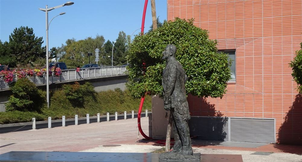 La statue de Jean Jaurès