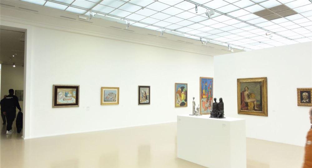 Une salle du Musée d'Art Moderne