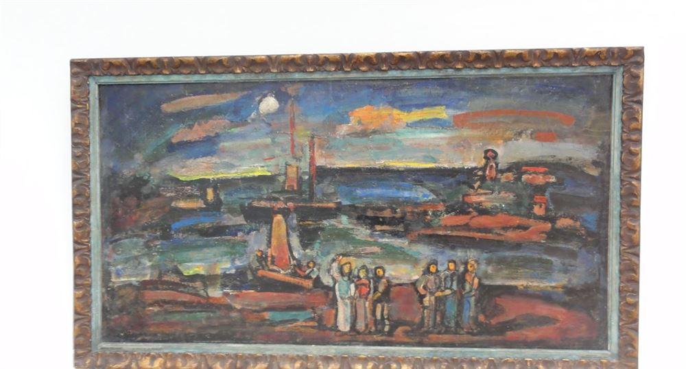 Christ et pêcheurs de Georges Rouault (1937)