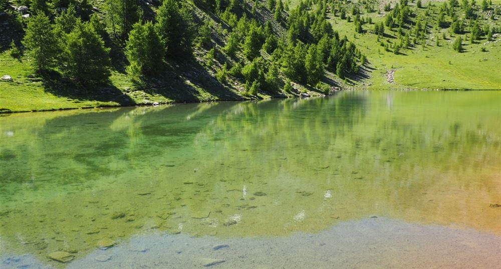 Vue sur le lac Sainte Marguerite