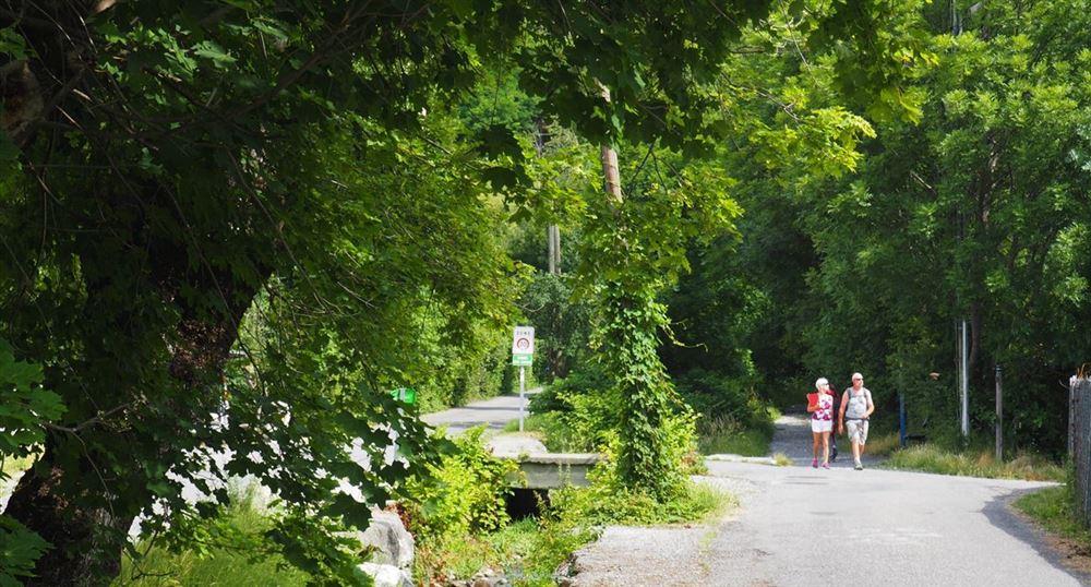 La promenade vers Serre-Ponçon