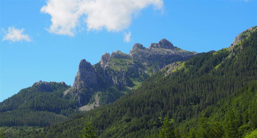 La vue sur la montagne