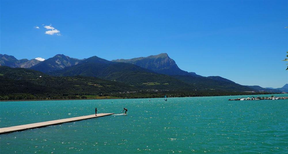 Le lac de Serre-Ponçon
