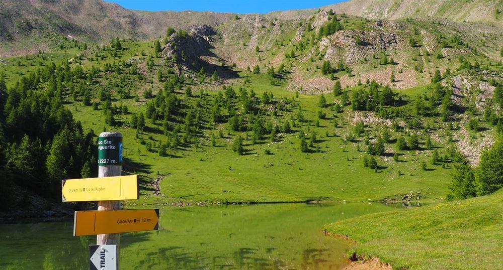 Le lac de Sainte-Marguerite