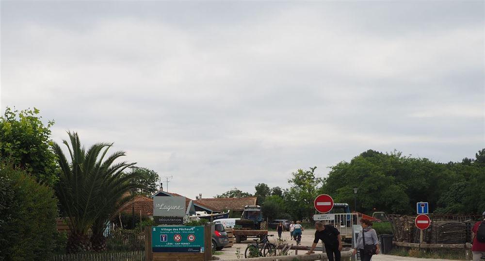 L'entrée du village des pêcheurs