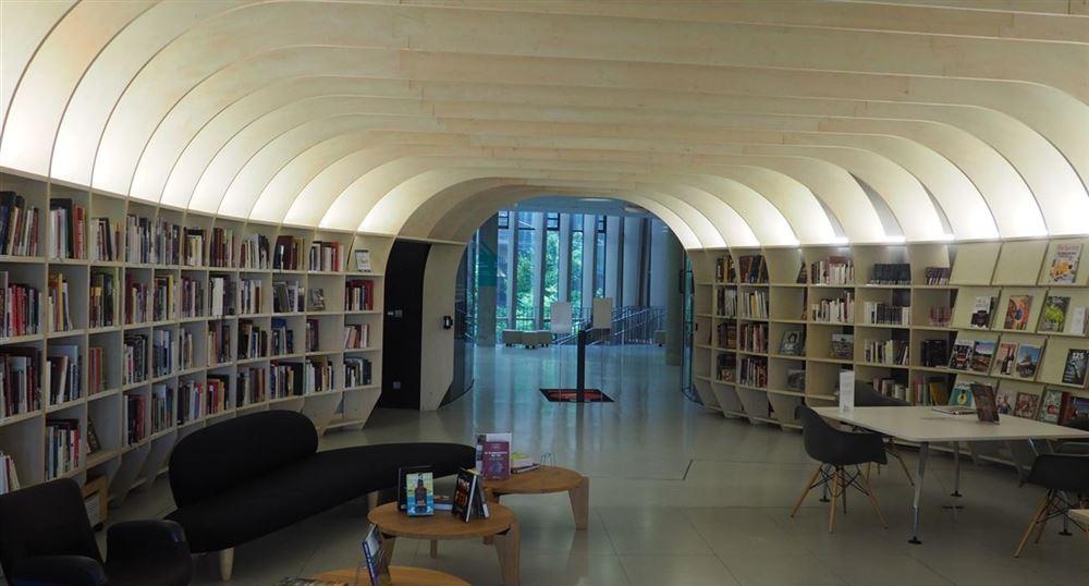 La salon de lecture
