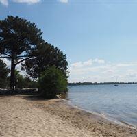 Le lac de Cazeaux