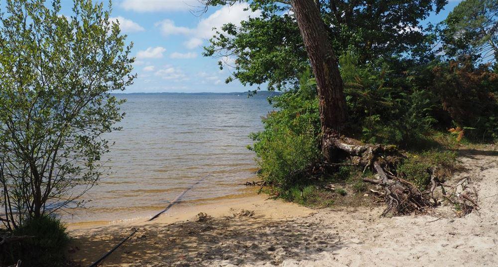 Le bout plage de Laouga