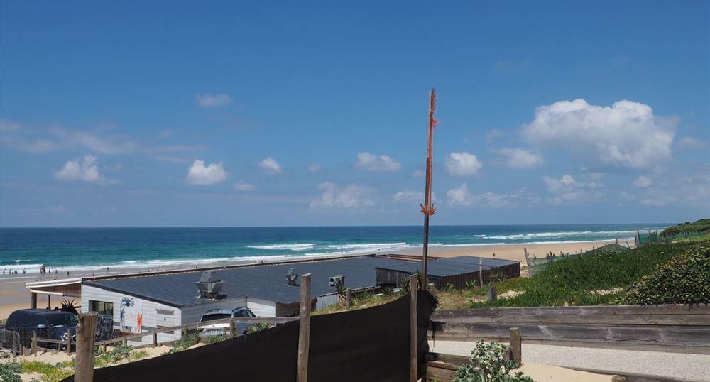 La plage avec ses dunes