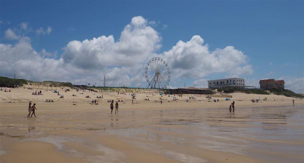 La plage de Biscarosse