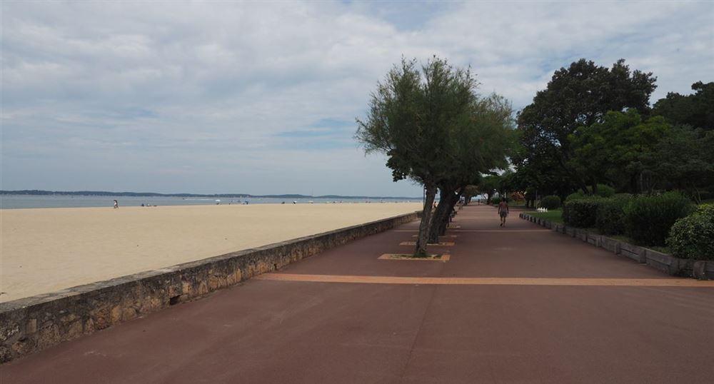 La plage de Pereire