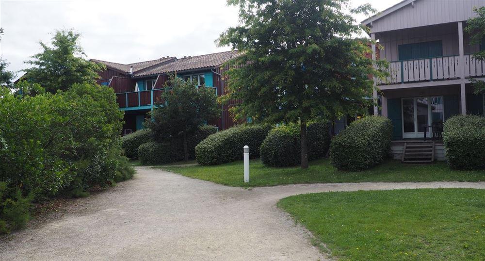Les bâtiments de la résidence Les rives Marines (Teich)