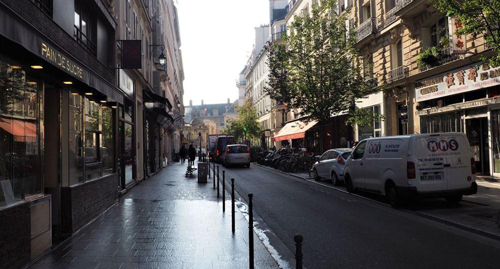 La rue Rambuteau