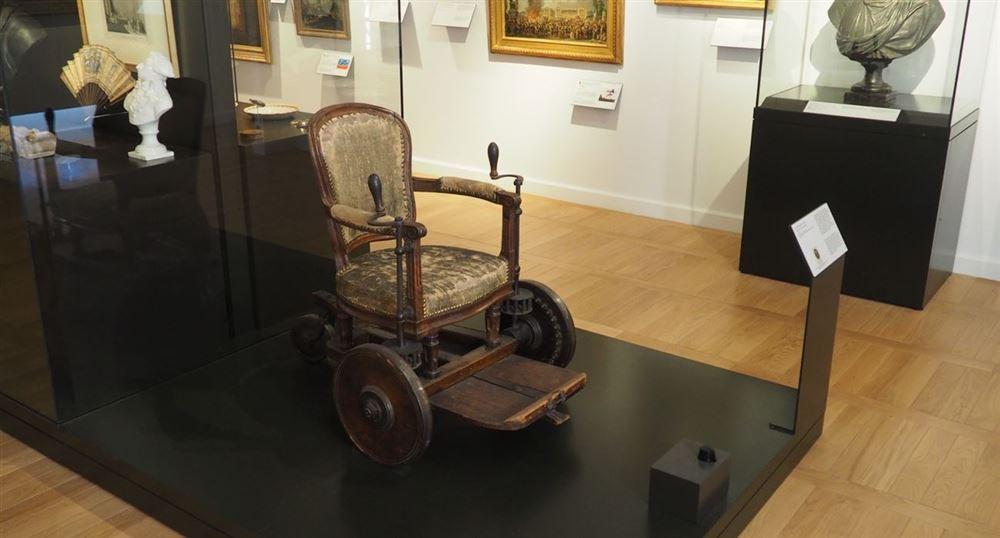 Le fauteuil roulant de Georges Couthon