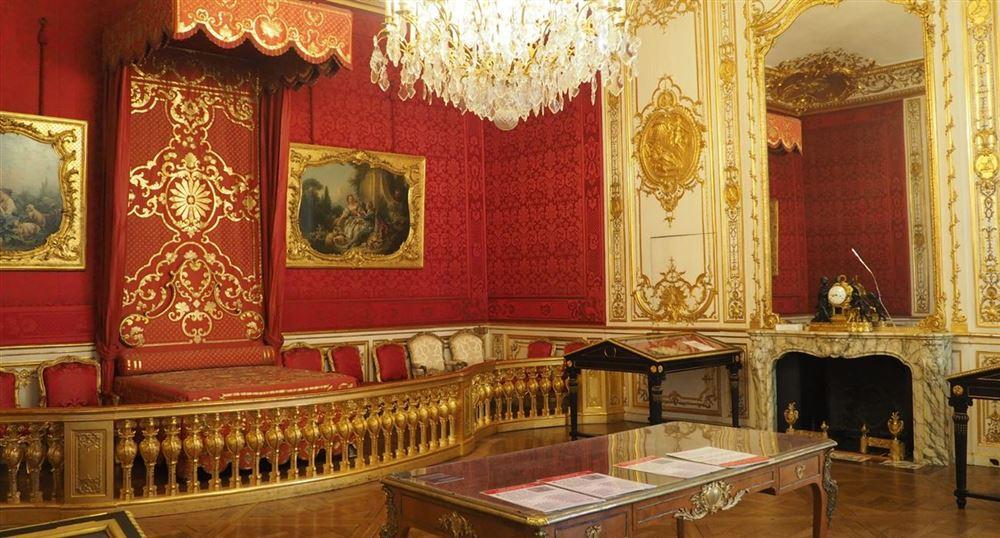 La chambre d'apparat de la princesse